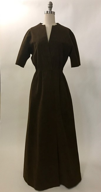 Brown Maxi Dress by Halston Image 1