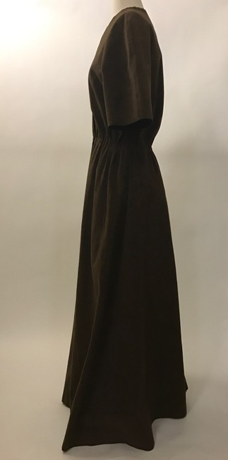 Brown Maxi Dress by Halston Image 2