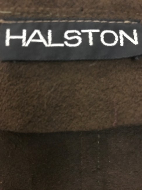 Brown Maxi Dress by Halston Image 4