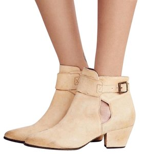 Free People Festival Boho Distressed Natural Boots