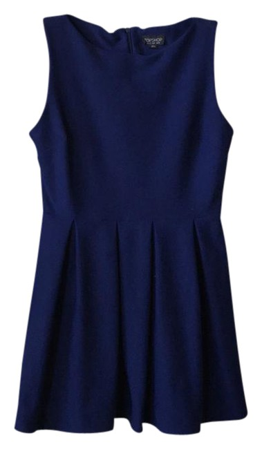 Preload https://img-static.tradesy.com/item/21206092/topshop-blue-skater-short-cocktail-dress-size-8-m-0-1-650-650.jpg