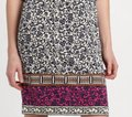 Tory Burch Silk Jersey Carmela Geometric Print Sheath Tunic Dress Image 11