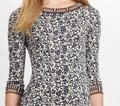 Tory Burch Silk Jersey Carmela Geometric Print Sheath Tunic Dress Image 9