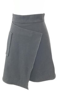 Carven Wool Skirt Black