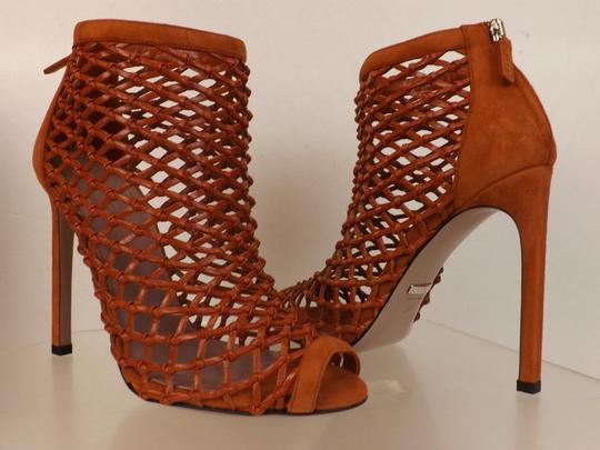 Gucci Old Whisky Orange Boots Image 7