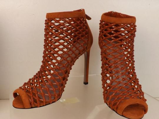 Gucci Old Whisky Orange Boots Image 9