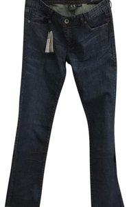 A|X Armani Exchange Straight Leg Jeans-Distressed