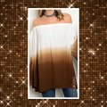 Other Bohemian Off Shoulder Bell Sleeve Tunic Image 2