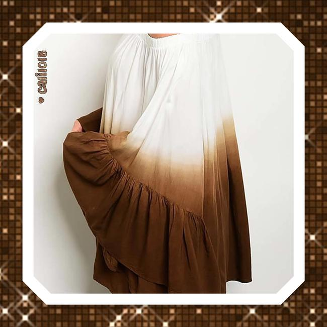 Other Bohemian Off Shoulder Bell Sleeve Tunic Image 3