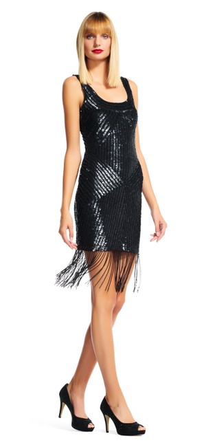 Preload https://img-static.tradesy.com/item/21206417/adrianna-papell-black-sequin-fringe-gatsby-with-scoop-mid-length-cocktail-dress-size-2-xs-0-0-650-650.jpg