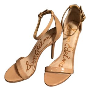 Sam Edelman Patent Patentn Beige Pumps