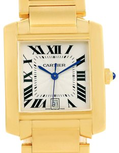Cartier Cartier Tank Francaise Large 18K Yellow Gold Automatic Watch W50001R2
