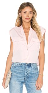 L'Academie Crop Blush Top