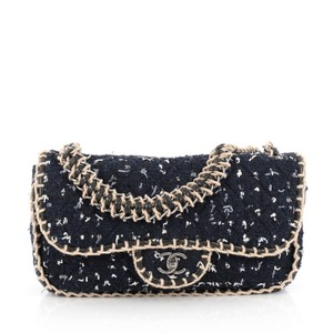 Chanel Tweed St. Tropez Flap Shoulder Bag