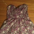 Express short dress purples blues and white on Tradesy Image 1
