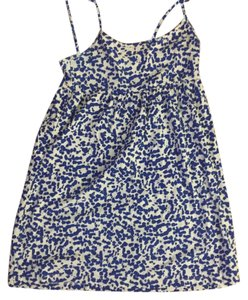 Forever 21 short dress blue and white on Tradesy