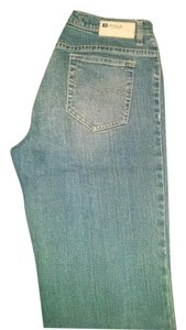Buffalo David Bitton Acid Wash Girl Boot Cut Jeans-Acid
