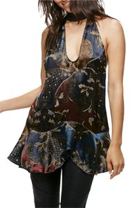 Free People Sleeveless Festival Halter Day To Night Tunic