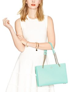 Kate Spade New York Emerson Smooth Small Phoebe Leather Tote Pebble Shoulder Bag