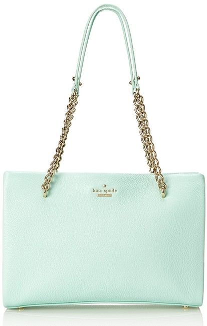 Kate Spade Emerson Smooth Small Phoebe Spa Blue Leather Shoulder Bag Kate Spade Emerson Smooth Small Phoebe Spa Blue Leather Shoulder Bag Image 2