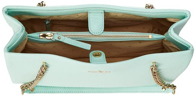 Kate Spade Emerson Smooth Small Phoebe Spa Blue Leather Shoulder Bag Kate Spade Emerson Smooth Small Phoebe Spa Blue Leather Shoulder Bag Image 6