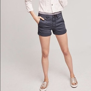 Anthropologie Cuffed Shorts