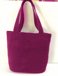 Talbots Tote in Hot Pink