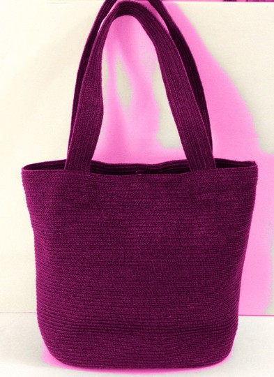 Talbots Tote in Hot Pink Image 1