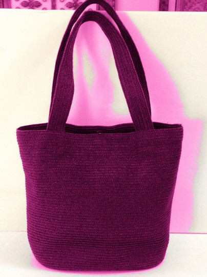 Talbots Tote in Hot Pink Image 2