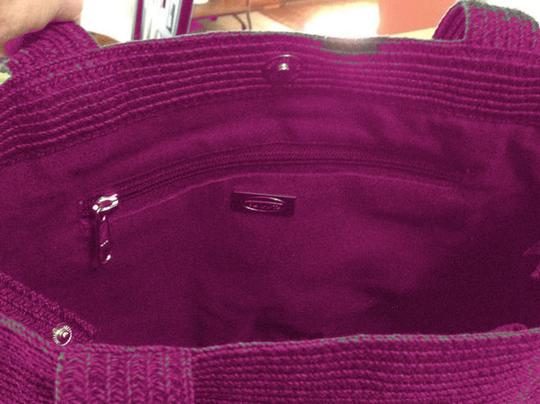 Talbots Tote in Hot Pink Image 5
