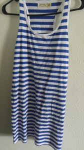 Faded Glory Top Blue-White