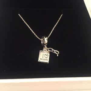 PANDORA Pandora Love Reading Necklace
