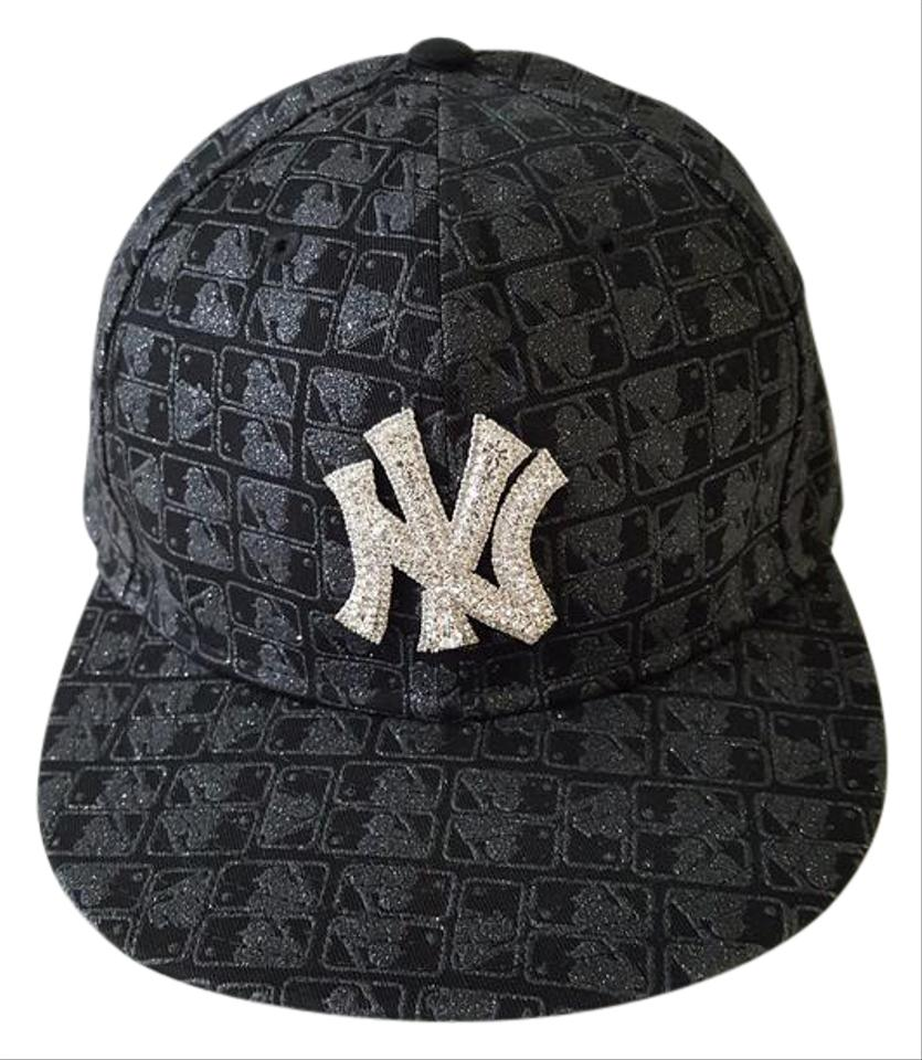 81010b6b0eccc 59 fifty New York Yankees Limited Edition bling hat with swarovski Size 7  1 8 ...
