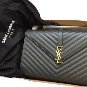 Saint Laurent Monogram Matalasse Large Ysl Large Shoulder Bag