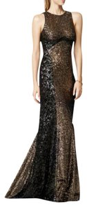 Badgley Mischka Sequin Gown Prom Evening Dress