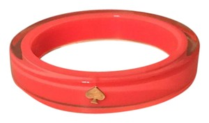 Kate Spade Neon Pink Lucite Bangle