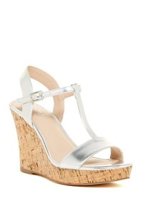 Charles by Charles David Silver Sandals