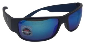 Vuarnet New VUARNET Sunglasses VL 1621 0003 Black Frame w/Pure Grey+Blue Flash