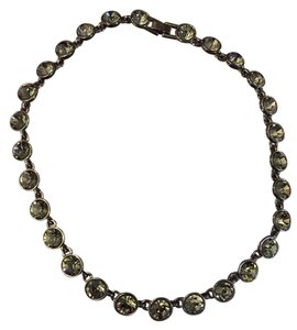 Nadri nadri dark grey necklace