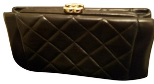 Chanel CHANEL Black Sac Pochette