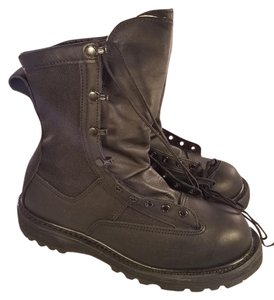 belleville Military Man Goretex Vibram Black Boots