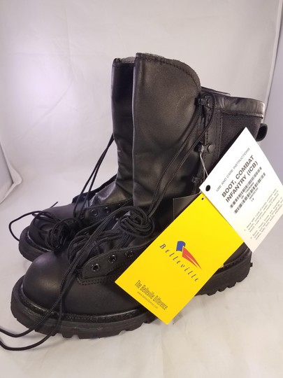 belleville Military Man Goretex Vibram Black Boots Image 2