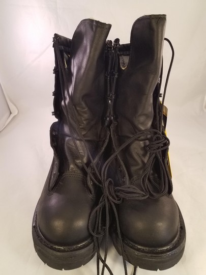 belleville Military Man Goretex Vibram Black Boots Image 3