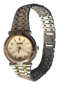 Gucci Gucci Gold/Silver Ladies Watch