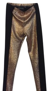 MINKPINK Black and gold Leggings