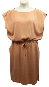 St. John short dress Silk on Tradesy