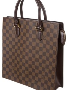 Louis Vuitton Tote in Damier brown/ black