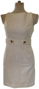MILLY Short Open Back Fully Lined Dress
