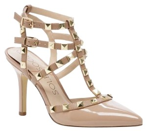 Sole Society adobe/nude/beige Pumps