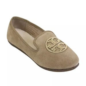 Tory Burch Camel/ Gold Flats